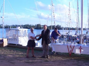 Trophy Presentation at St. George Dinghy and Sport Club