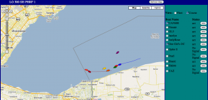 Screen capture from Kattack fleet tracking